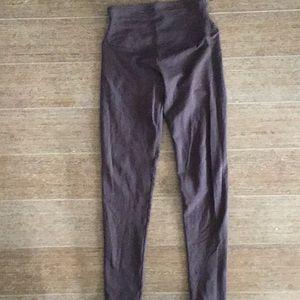 Yummie Rachel Compact Cotton Legging - Shale sz Sm